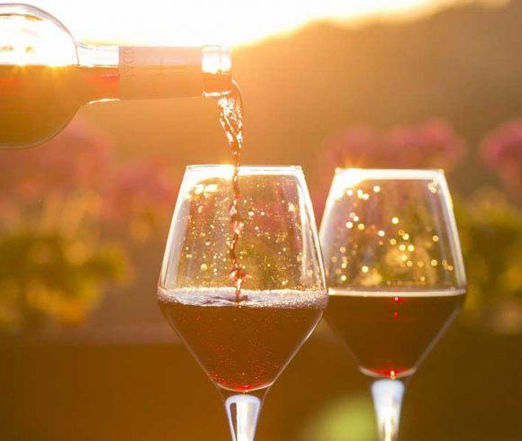 Gelöschter Wein