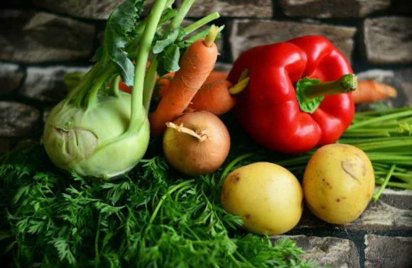 Gemüse Paprika Kartoffeln Möhren