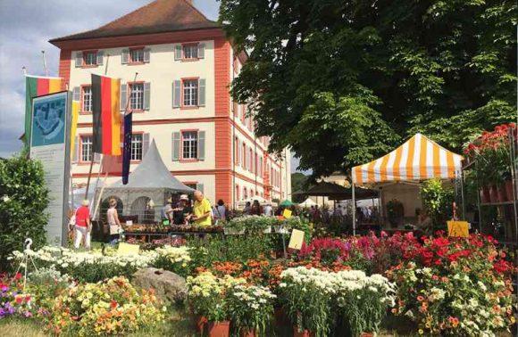 Gartenmesse auf Schloss Beuggen